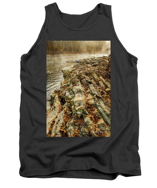 Tank Top featuring the photograph River Bank by Iris Greenwell