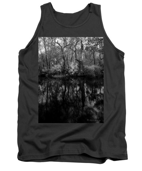 Tank Top featuring the photograph River Bank Palmetto by Marvin Spates