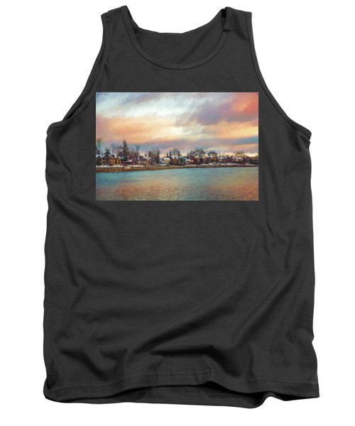 River Dream Tank Top by Celso Bressan