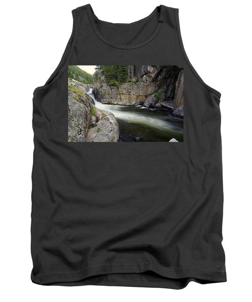 River In The Rockies Tank Top