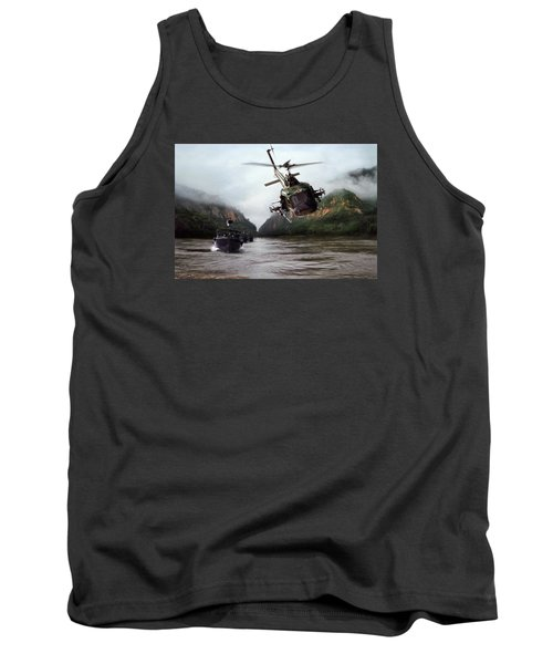 River Patrol Tank Top by Peter Chilelli