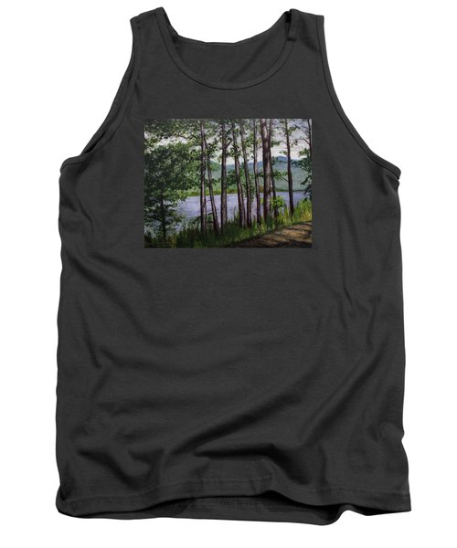 River Road Tank Top by Ron Richard Baviello