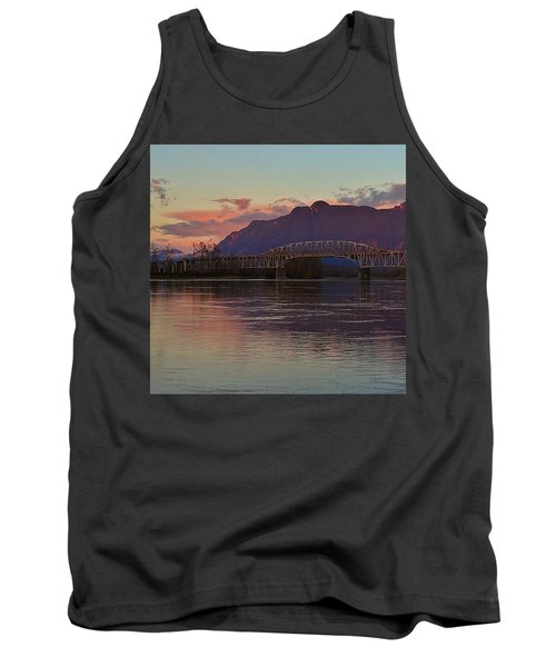 Fraser River, British Columbia Tank Top by Heather Vopni