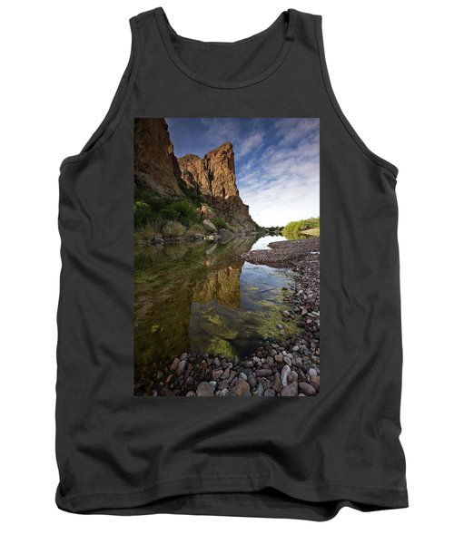 River Serenity Tank Top by Sue Cullumber