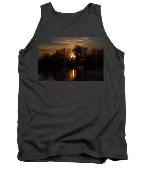 River Sunset Tank Top