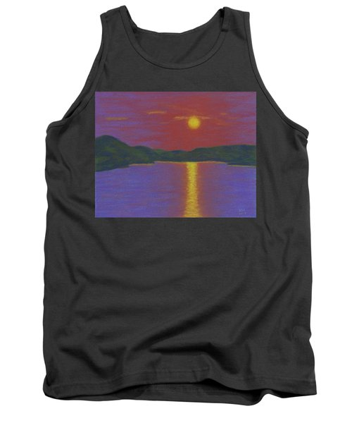 Riverboat Sunset Tank Top