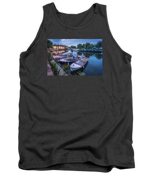 Riverside By Night Tank Top