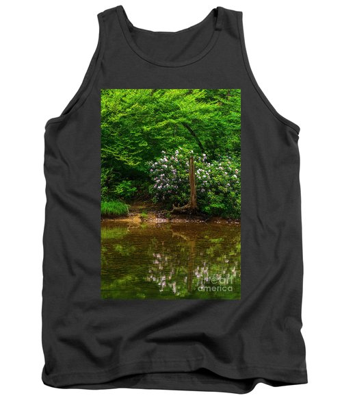 Riverside Rhododendron Tank Top