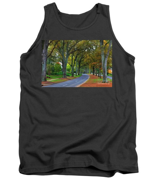 Road In Charlotte Tank Top