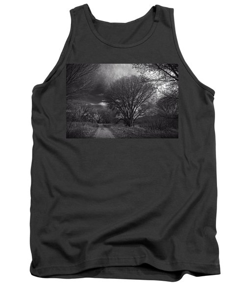 Road Through The Cottonwoods Tank Top