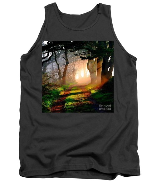 Road Through The Woods Tank Top