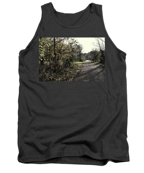 Road To Covered Bridge Tank Top