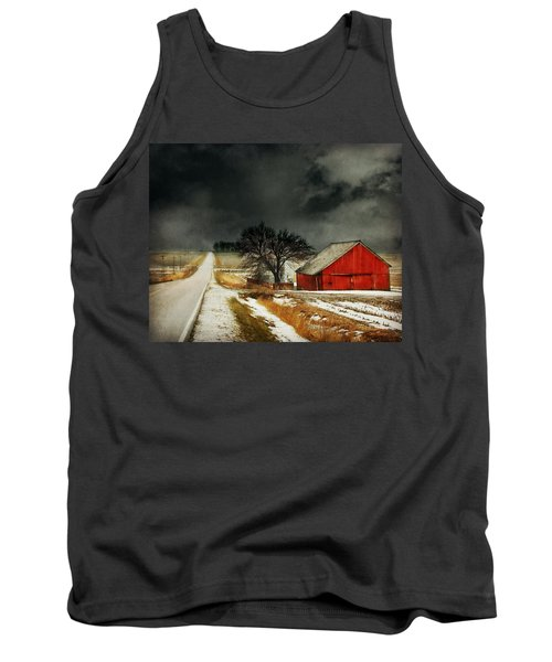 Tank Top featuring the photograph Road To Nowhere by Julie Hamilton