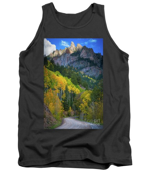 Road To Silver Mountain Tank Top