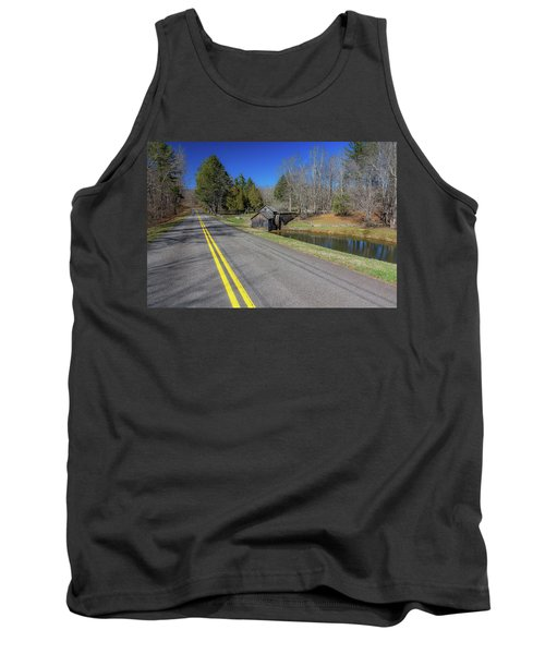 Road View Of Mabry Mill Tank Top