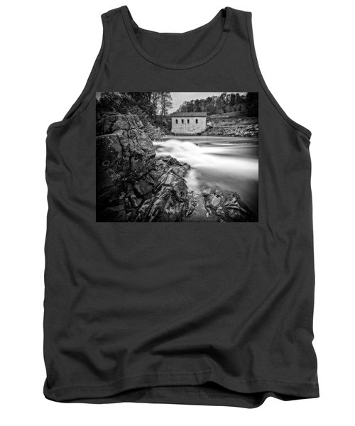 Tank Top featuring the photograph Roanoke River Flow by Alan Raasch
