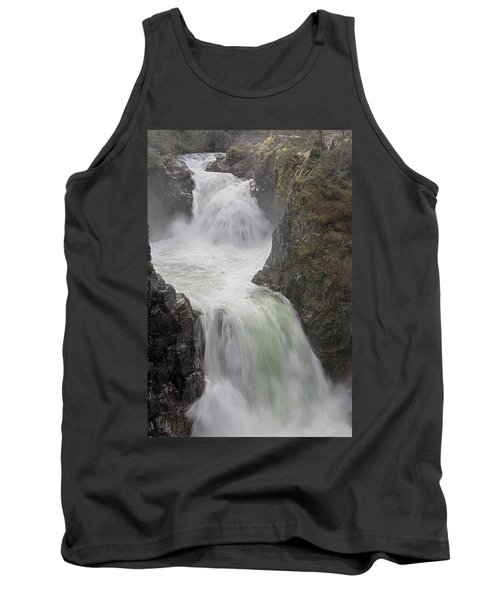 Tank Top featuring the photograph Roaring River by Randy Hall