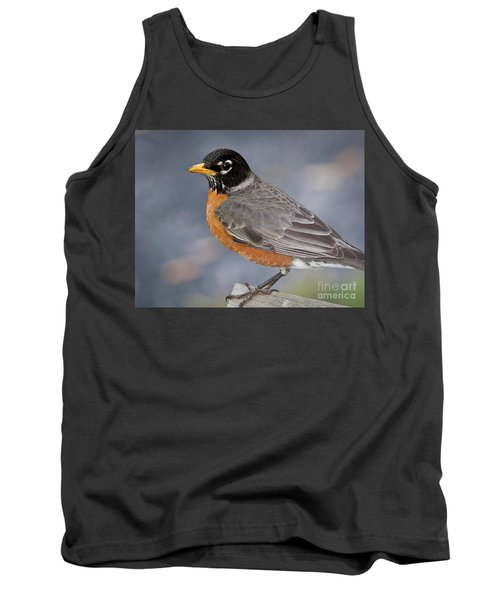 Tank Top featuring the photograph Robin by Douglas Stucky