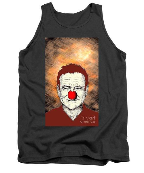 Robin Williams 2 Tank Top by Jason Tricktop Matthews