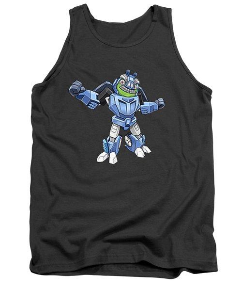 I Robot T-shirt Tank Top by Herb Strobino