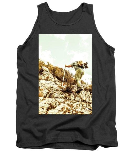 Rock Climbing Mountaineer Tank Top