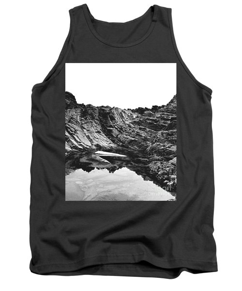 Tank Top featuring the photograph Rock - Detail by Rebecca Harman