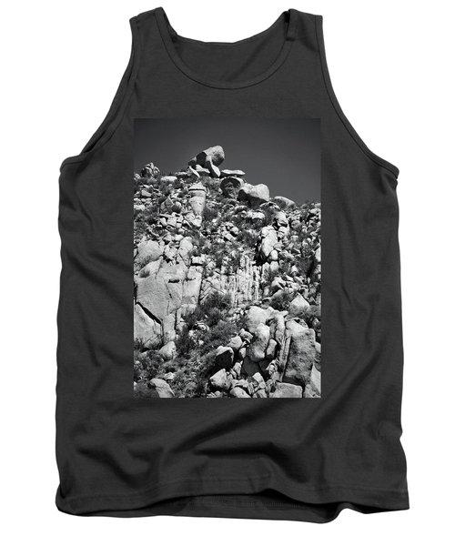 Rock Face Sandia Mountain Tank Top