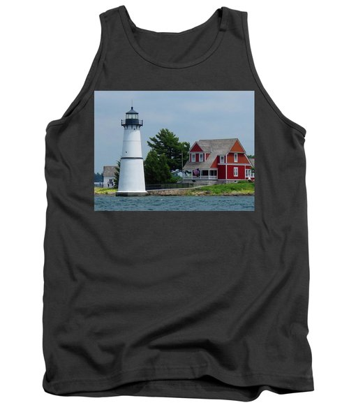 Rock Island Lighthouse July Tank Top