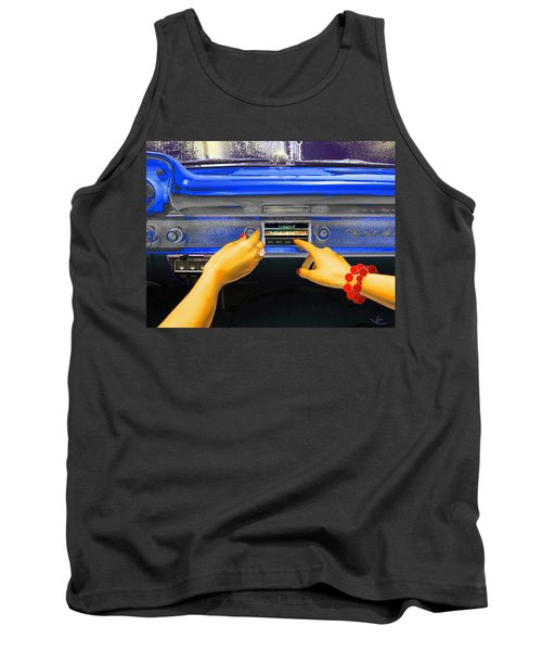 Rock N Roll Radio Tank Top