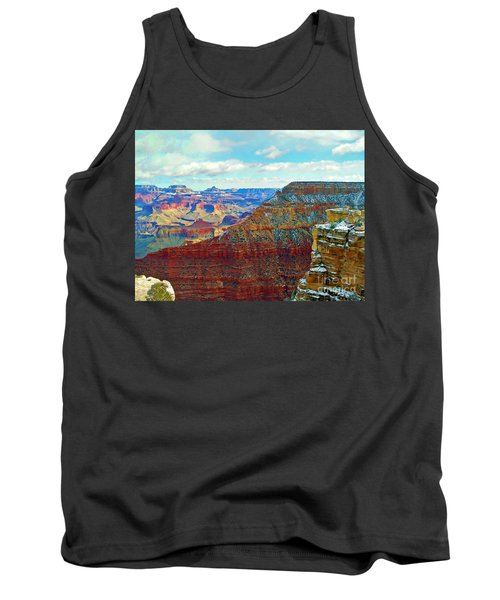 Tank Top featuring the photograph Rock Solid by Roberta Byram