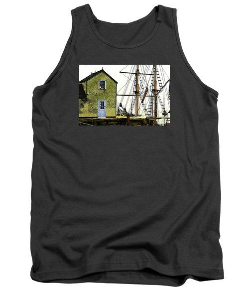 Rockport Harbor Tank Top by Tom Cameron
