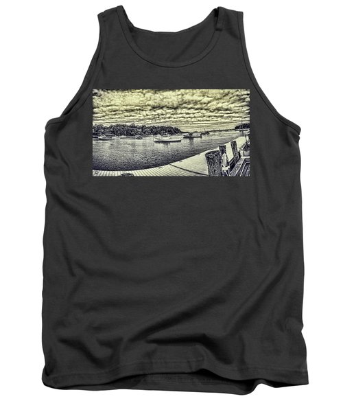 Rockport Outer- Harbor Tank Top by Daniel Hebard