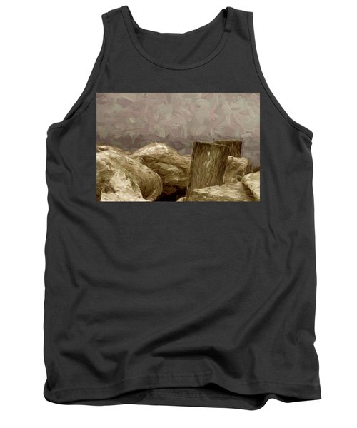 Rocks And Pilings Tank Top