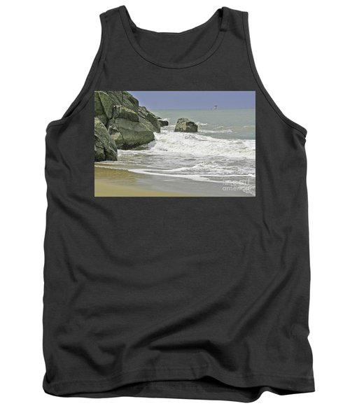 Rocks, Sand And Surf Tank Top
