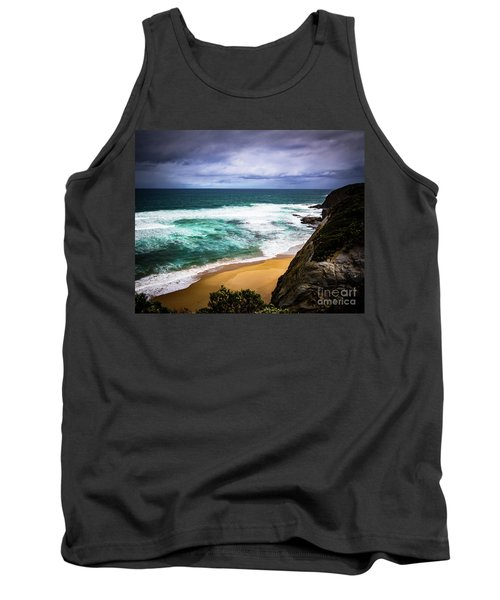 Tank Top featuring the photograph Rocky Coast by Perry Webster