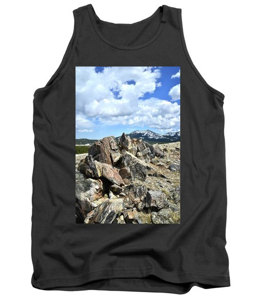 Rocky Crest At Big Horn Pass Tank Top