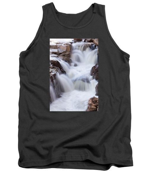 Rocky Gorge Falls Tank Top by Michael Hubley