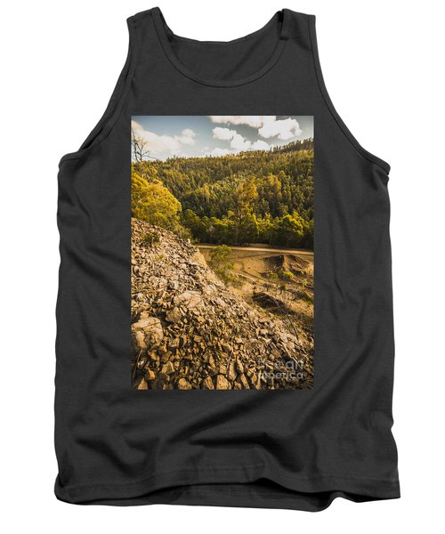 Rocky Hills And Forestry Views Tank Top