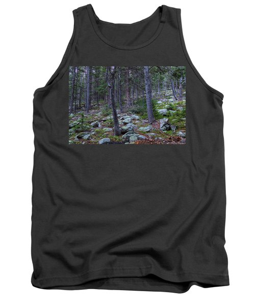 Tank Top featuring the photograph Rocky Nature Landscape by James BO Insogna