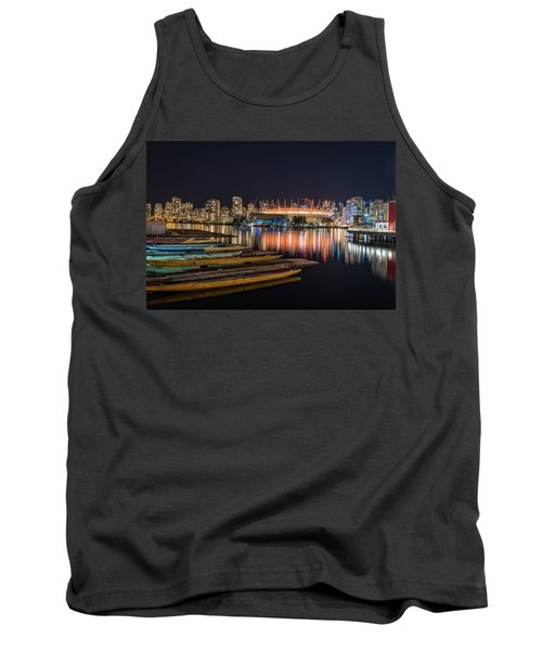 Rogers Arena Vancouver Tank Top by Sabine Edrissi