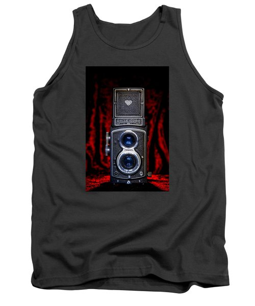 Tank Top featuring the photograph Rollei by Keith Hawley