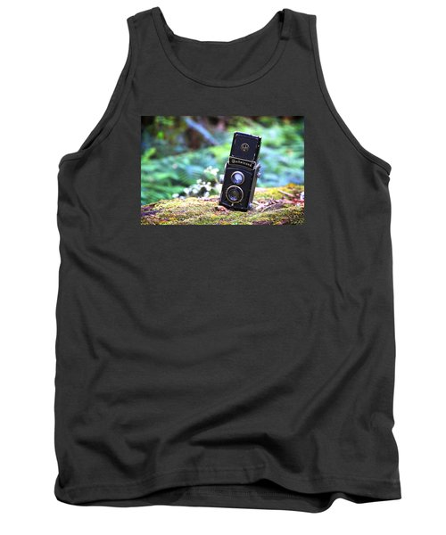 Tank Top featuring the photograph Rolleicord 2 by Keith Hawley
