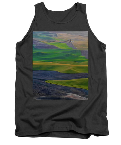 Rolling Fields Of The Palouse Tank Top by James Hammond