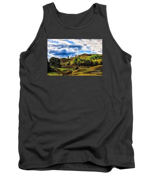 Rolling Hills Tank Top by Rick Bragan