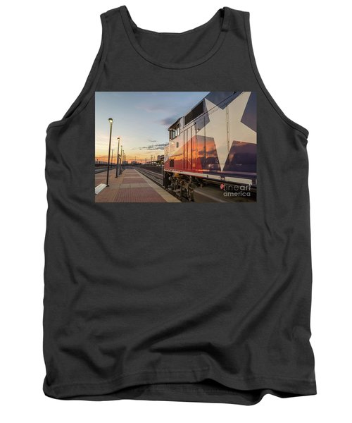 Rolling Into The Sunset Tank Top