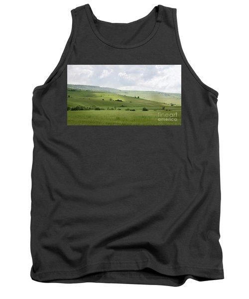 Rolling Landscape, Romania Tank Top