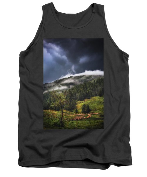 Tank Top featuring the photograph Rolling Through The Trees by Jason Roberts
