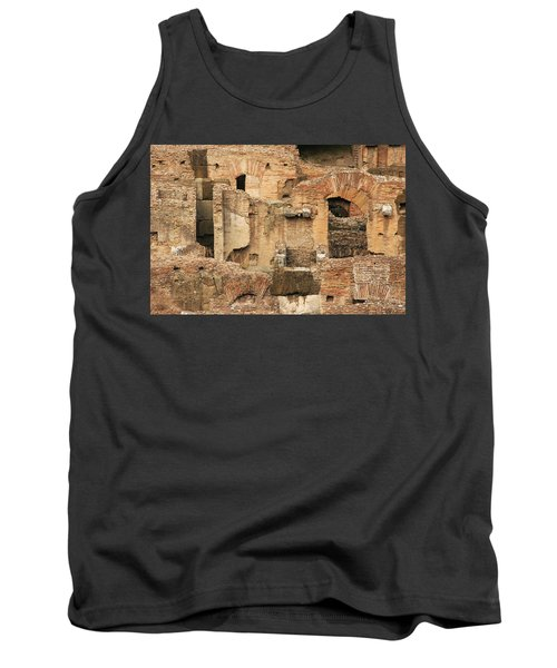 Tank Top featuring the photograph Roman Colosseum by Silvia Bruno