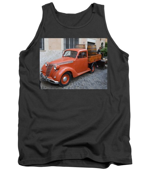 Roman Street Parking And Shopping Tank Top