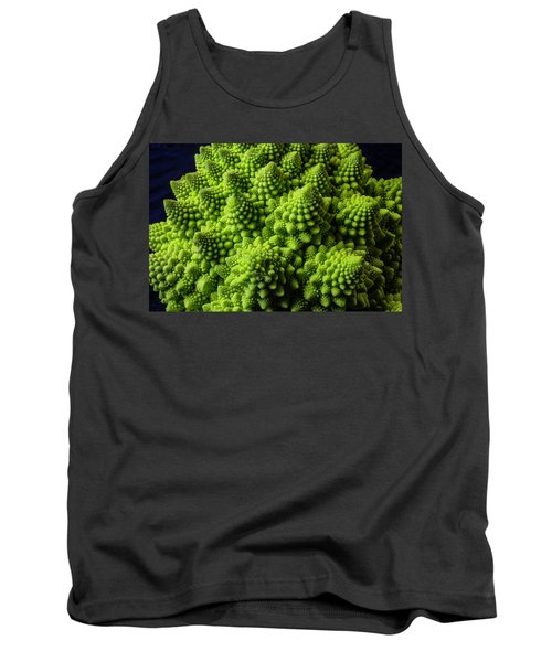 Romanesco Broccoli Tank Top by Garry Gay
